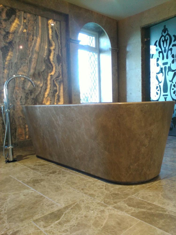 Fossil Stone Dublin - Marble Bath Tub