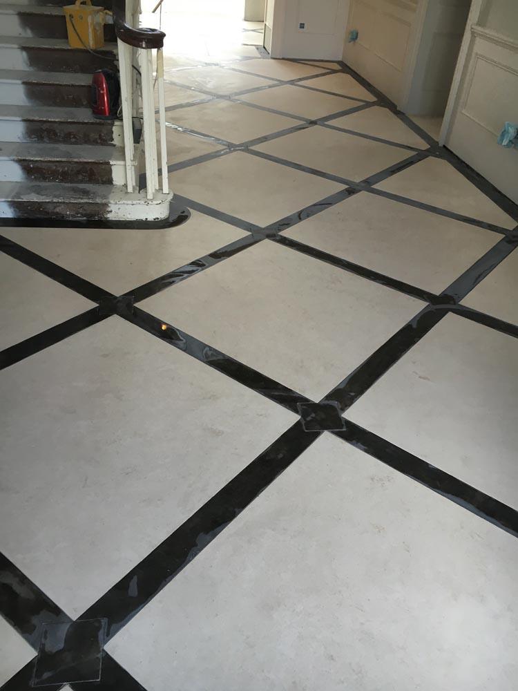 Fossil Stone Dublin - Hall Tiles