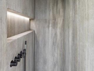 Fossil Stone Dublin - Oak Grey Bathroom